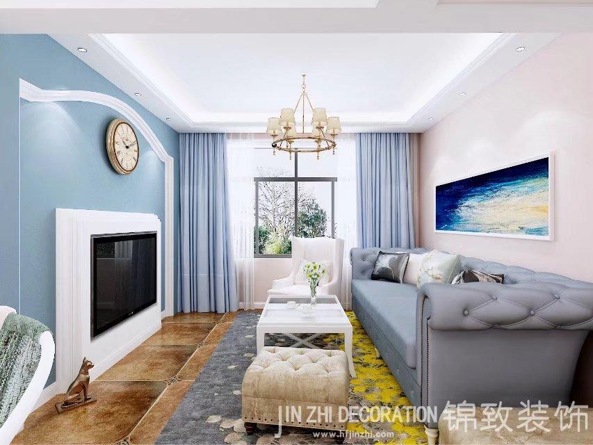 【11选5顺口溜装饰】阿奎利亚102平三居室小美风格欣赏